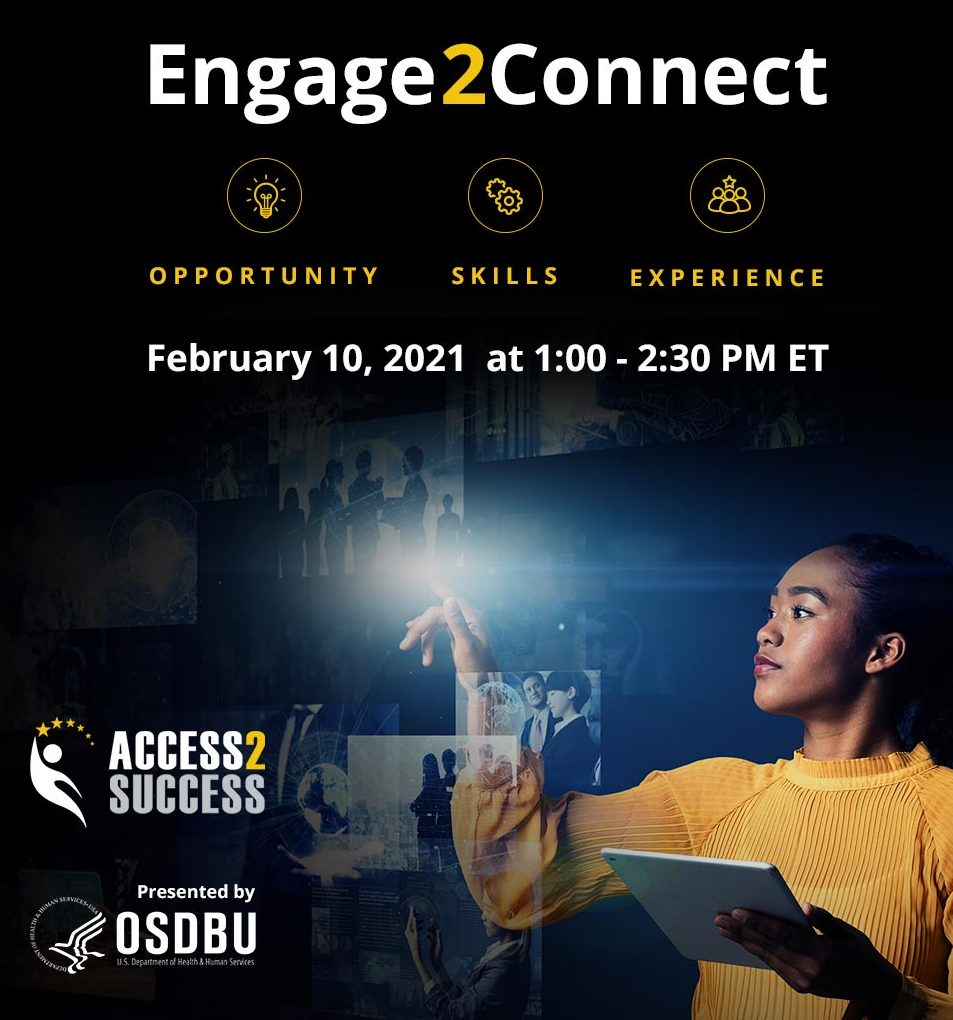 Engage2Connect webinar for opportunities, skills, and experience